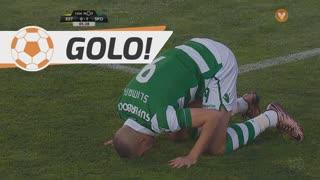 GOLO! Sporting CP, Slimani aos 5', Estoril Praia 0-1 Sporting CP