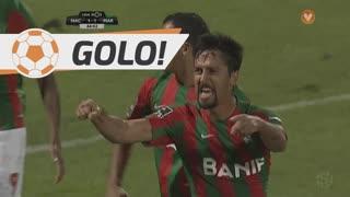 GOLO! Marítimo M., Dirceu aos 44', CD Nacional 1-1 Marítimo M.