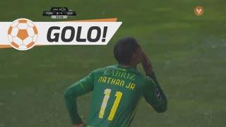 GOLO! CD Tondela, Nathan Junior aos 24', CD Tondela 1-1 Vitória SC