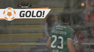 GOLO! Vitória FC, Vasco Costa aos 7', SC Braga 1-1 Vitória FC