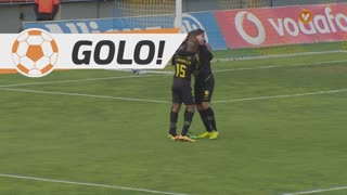 GOLO! CD Tondela, Nathan Junior aos 10', Estoril Praia 0-1 CD Tondela