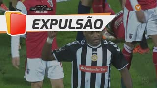 CD Nacional, Expulsão, Zainadine Junior aos 56'