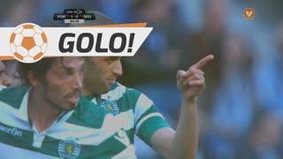 GOLO! Sporting CP, Slimani aos 44', FC Porto 1-2 Sporting CP