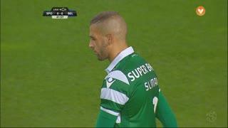 Sporting CP, Jogada, Slimani aos 42'