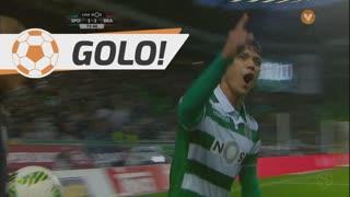 GOLO! Sporting CP, Montero aos 76', Sporting CP 2-2 SC Braga