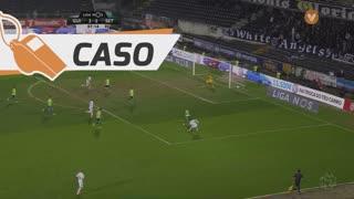 Vitória FC, Caso, Miguel Lourenço aos 88'