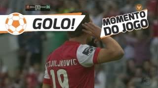 GOLO! SC Braga, N. Stojiljković aos 7', SC Braga 1-0 Marítimo M.