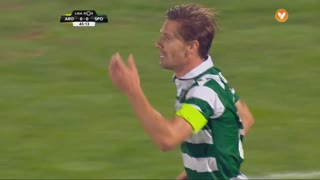 Sporting CP, Jogada, Adrien Silva aos 45'