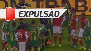 CD Tondela, Expulsão, Wanderson Cunha aos 90'+5'