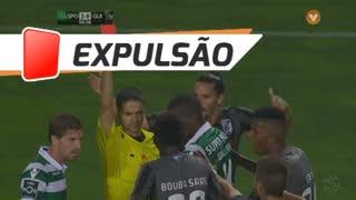 Vitória SC, Expulsão, B. Saré aos 55'