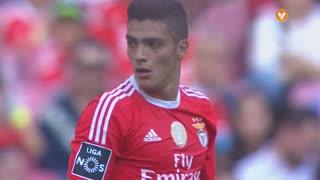 SL Benfica, Jogada, R. Jiménez aos 14'