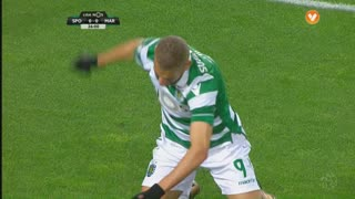 Sporting CP, Jogada, Slimani aos 27'