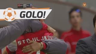 GOLO! SC Braga, N. Stojiljković aos 63', SC Braga 3-0 Belenenses
