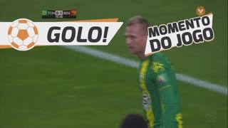 GOLO! SL Benfica, M. Berger (p.b.) aos 11', CD Tondela 0-2 SL Benfica