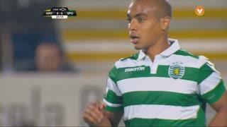 Sporting CP, Jogada, João Mário aos 21'