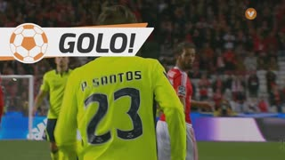 GOLO! SC Braga, Pedro Santos aos 90'+3', SL Benfica 5-1 SC Braga