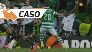 Sporting CP, Caso, B. Ruiz aos 3'