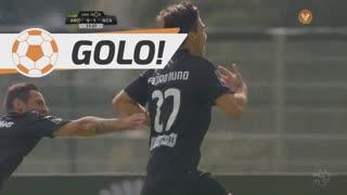 GOLO! A. Académica, Pedro Nuno aos 11', FC Arouca 0-1 A. Académica