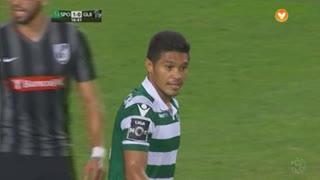 Sporting CP, Jogada, T. Gutiérrez aos 17'