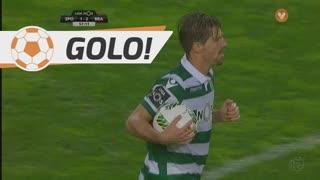GOLO! Sporting CP, Adrien Silva aos 57', Sporting CP 1-2 SC Braga