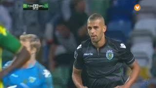 Sporting CP, Jogada, Slimani aos 10'