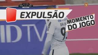 Vitória SC, Expulsão, Dalbert Henrique aos 12'