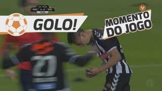 GOLO! CD Nacional, Marco Baixinho (p.b.) aos 17', CD Nacional 1-0 FC P.Ferreira