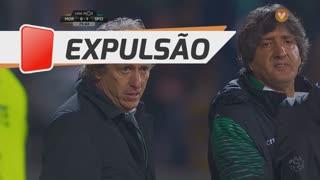 Sporting CP, Expulsão, Jorge Jesus aos 75'