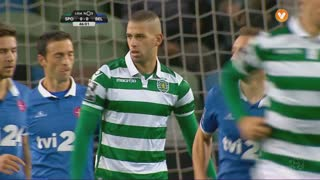 Sporting CP, Jogada, Slimani aos 46'