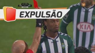 Vitória FC, Expulsão, Rúben Semedo aos 88'