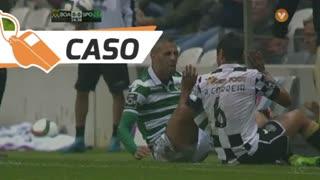 Sporting CP, Caso, Slimani aos 25'
