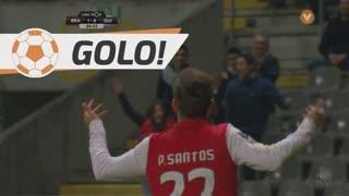GOLO! SC Braga, Pedro Santos aos 6', SC Braga 1-0 Vitória SC