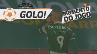 GOLO! Sporting CP, Slimani aos 90', Sporting CP 3-2 SC Braga