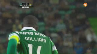 Sporting CP, Jogada, William aos 84'
