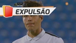 Vitória SC, Expulsão, João Afonso aos 90'