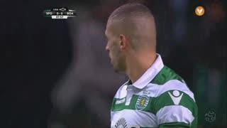 Sporting CP, Jogada, Slimani aos 8'