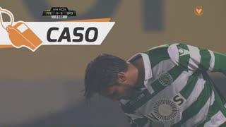 Sporting CP, Caso, Naldo aos 12'