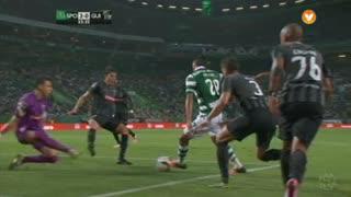 Sporting CP, Jogada, B. Ruiz aos 33'