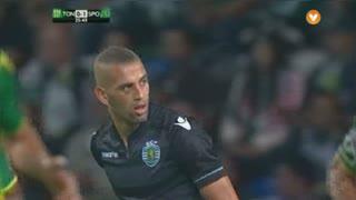 Sporting CP, Jogada, Slimani aos 26'
