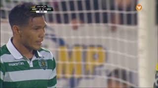 Sporting CP, Jogada, T. Gutiérrez aos 40'