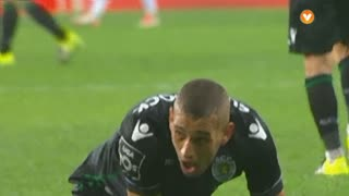 Sporting CP, Jogada, Slimani aos 55'