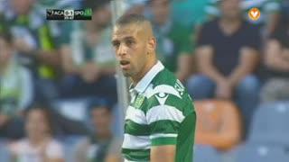 Sporting CP, Jogada, Slimani aos 23'