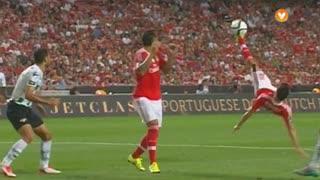 SL Benfica, Jogada, Gaitán aos 20'