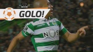 GOLO! Sporting CP, João Mário aos 32', Sporting CP 3-0 FC Arouca