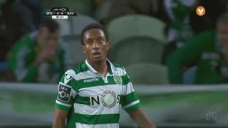 Sporting CP, Jogada, Gelson Martins aos 81'