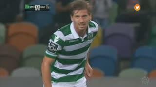Sporting CP, Jogada, Adrien Silva aos 19'