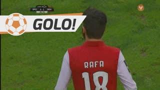 GOLO! SC Braga, Rafa aos 45', Sporting CP 0-2 SC Braga