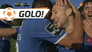 GOLO! Belenenses SAD, André Sousa aos 41', FC Arouca 0-1 Belenenses SAD