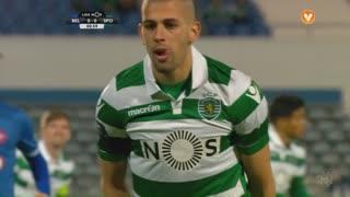 Sporting CP, Jogada, Slimani aos 1'