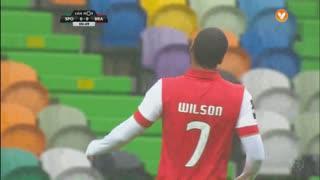 SC Braga, Jogada, Wilson Eduardo aos 1'